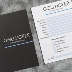Gollhofermoden Salzburg - Referenz Logo Redesign
