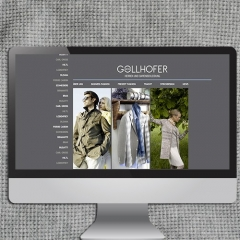 Gollhofermoden Salzburg - Referenz Webdesign