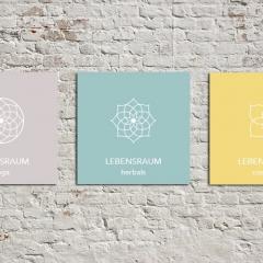 Lebensraum Yoga - Golling, Referenz: Branding