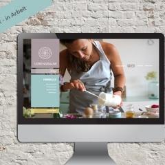 Lebensraum Yoga - Golling, Referenz: Responsive Webdesign