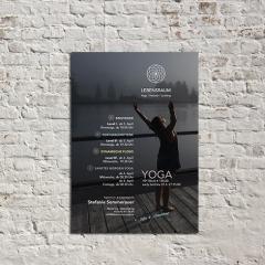 Lebensraum Yoga - Golling, Referenz: Plakat