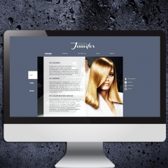 Salon Jennifer - Referenz Webdesign