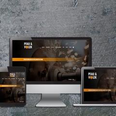 Gießerei Volek - Webdesign + Branding + Print